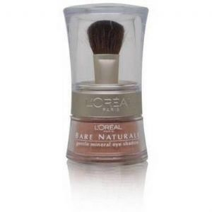 l'oreal bare naturale mineral shadow bare gold BN